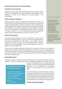 Lees ervaringen van Gerard Vermeulen over Barco Eonis Schermen