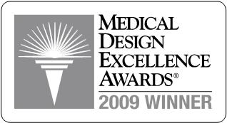 winnaar medical design excellence award