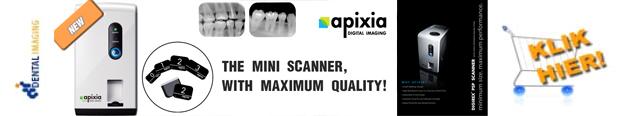 APIXIA PSP de kleinste PSP / fosfor scanner